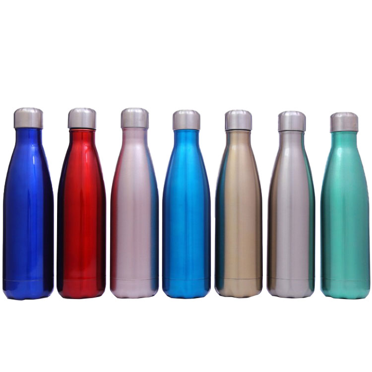 Drinkware Vacuum flask <strong>17</strong> oz stainless steel water bottle cola shaped vacuumvacuum flask heat water, cola shaped thermos flask