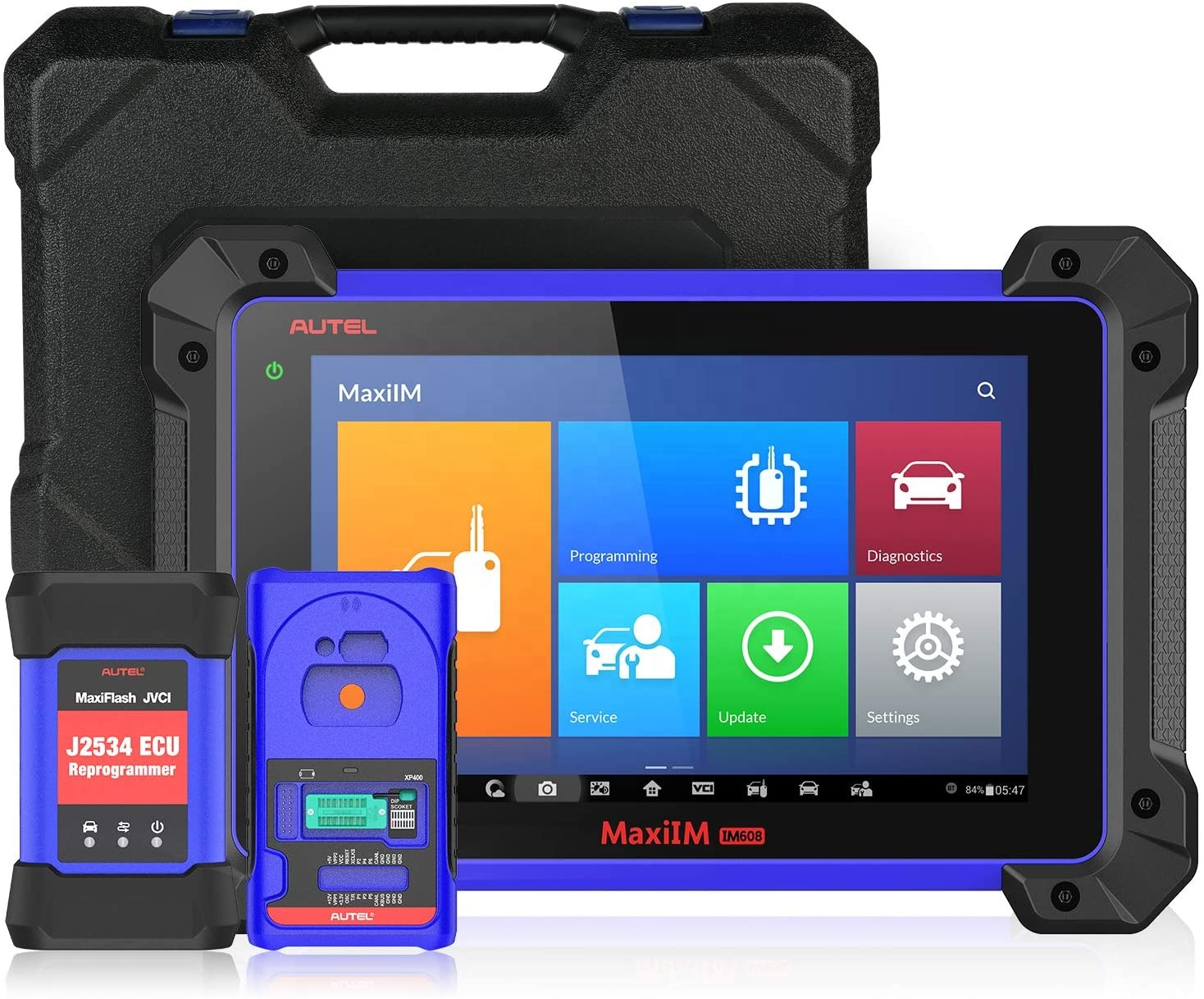 Autel MaxiIM IM608 Key Programming &amp; Diagnostic Tool IMMO All Key Lost, ECU Coding with <strong>J2534</strong> XP400 for all Systems Diagnosis