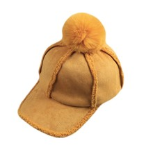 Hat importers winter hats with pom poms baseball <strong>cap</strong> for lady