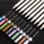 10PCS Premium 1mm Fine Tip Metallic Marker Pens for Card Making, DIY Photo Albums