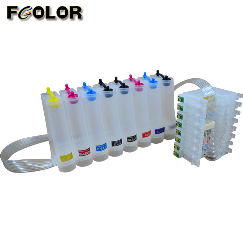R1800 CISS Continuous Ink Supply System For EPSON STYLUS PHOTO R800 R1800