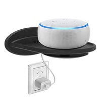 MoKo Universal Slat Decorative Rack Clever Charging <strong>Shelf</strong> Wall Mount <strong>Shelf</strong> for Echo Dot/Spot/Show for Anything Up to 15lbs