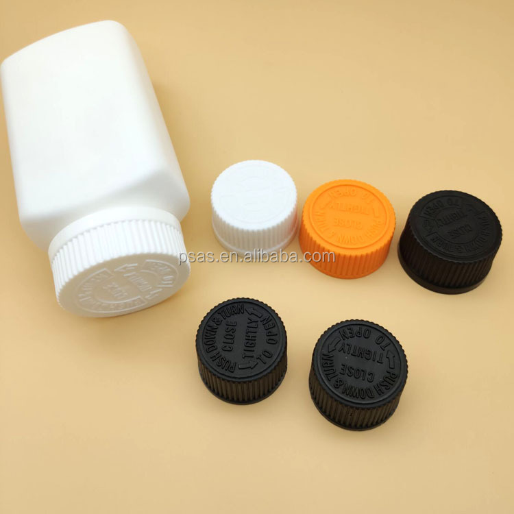 High quality 24/410 28/410 38/410 Childproof Screw cap child resistant closures