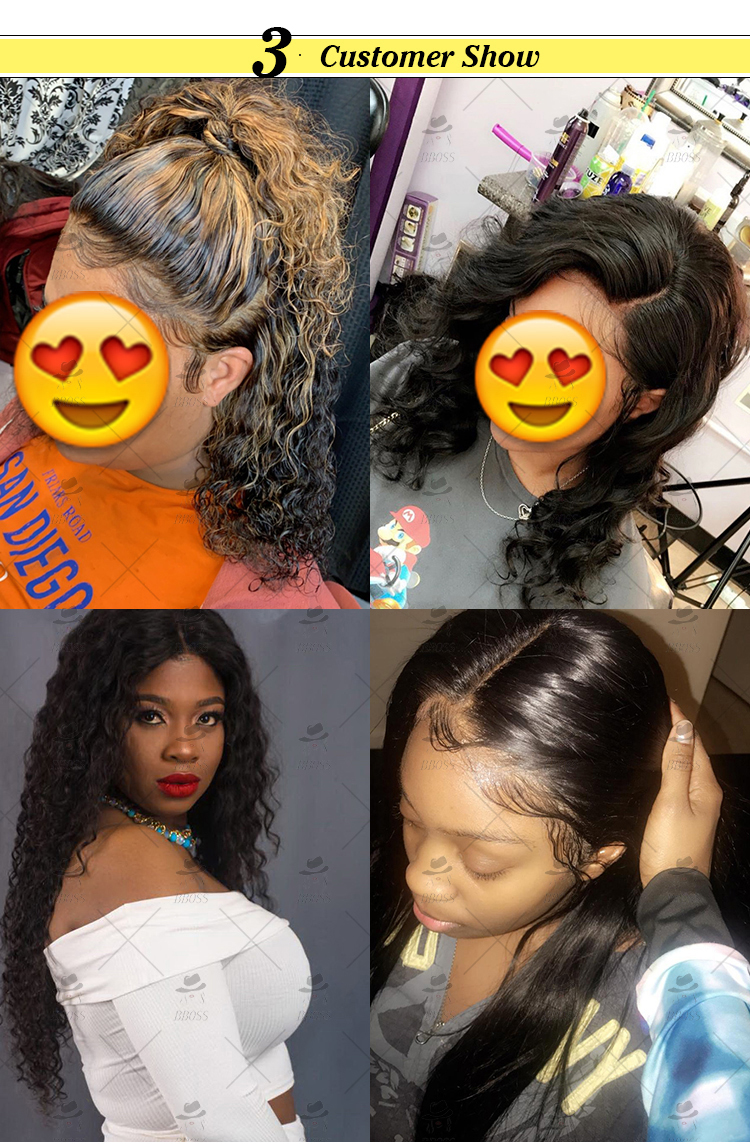 Raw Virgin Cuticle Aligned Brazilian Human Hair Transparent Glueless Swiss Lace Front/Frontal Wig With Baby Hair For Black Women
