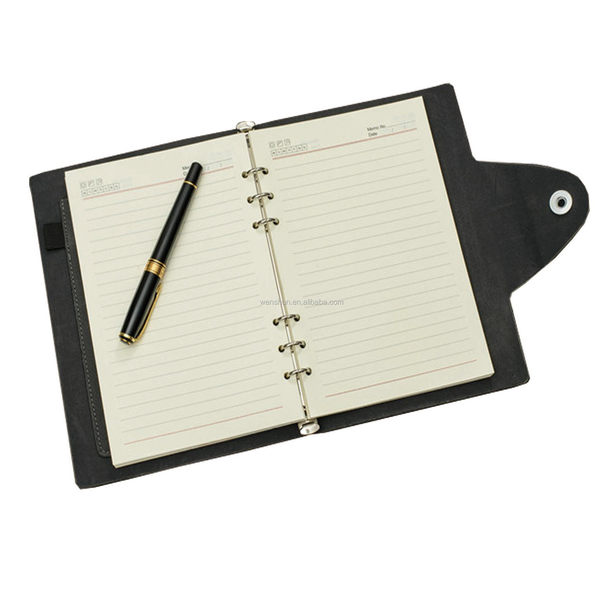 Wholesale School With Office Supplies PU Cover Planners and Notebooks