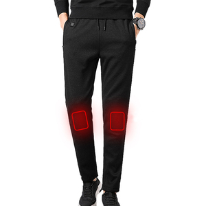 Men Battery Heated Hunting Warm Pants Winter Trousers