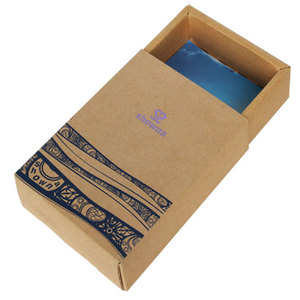 High quality custom printed eco-friendly small packaging box soap drawer box