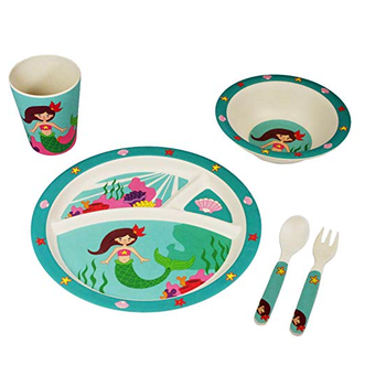 Biodegradable and Eco-friendly children wholesale baby meal set