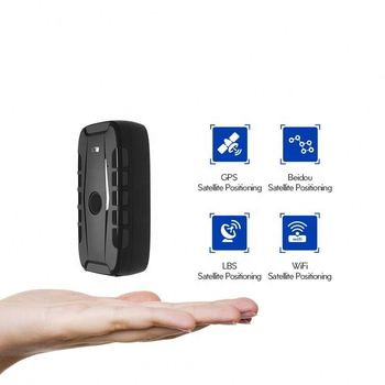 Vehicle tracking and positioning GPS locator Portable stealth anti-detection