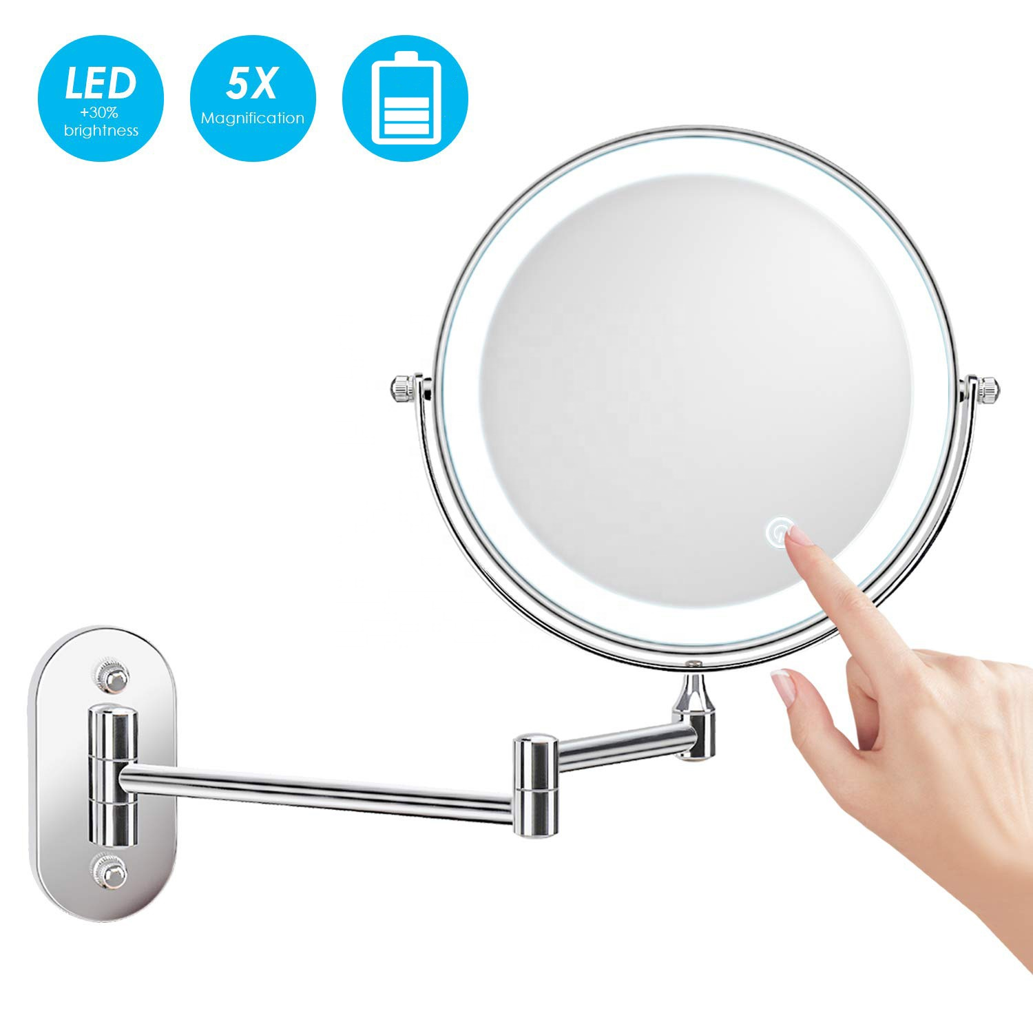 Espejos Para Maquillaje Flexible Bathroom Smart Mirror <strong>X10</strong>