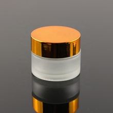 20ml Luxury Matte Frosted Eye Cream Lip Balm Pomade <strong>Containers</strong> And Cosmetic Packaging Empty Glass Jar (GJM16)