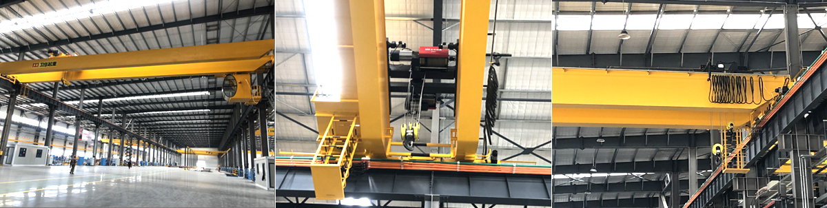 European Style 10 ton Double Girder Overhead Lifting EOT Bridge Crane