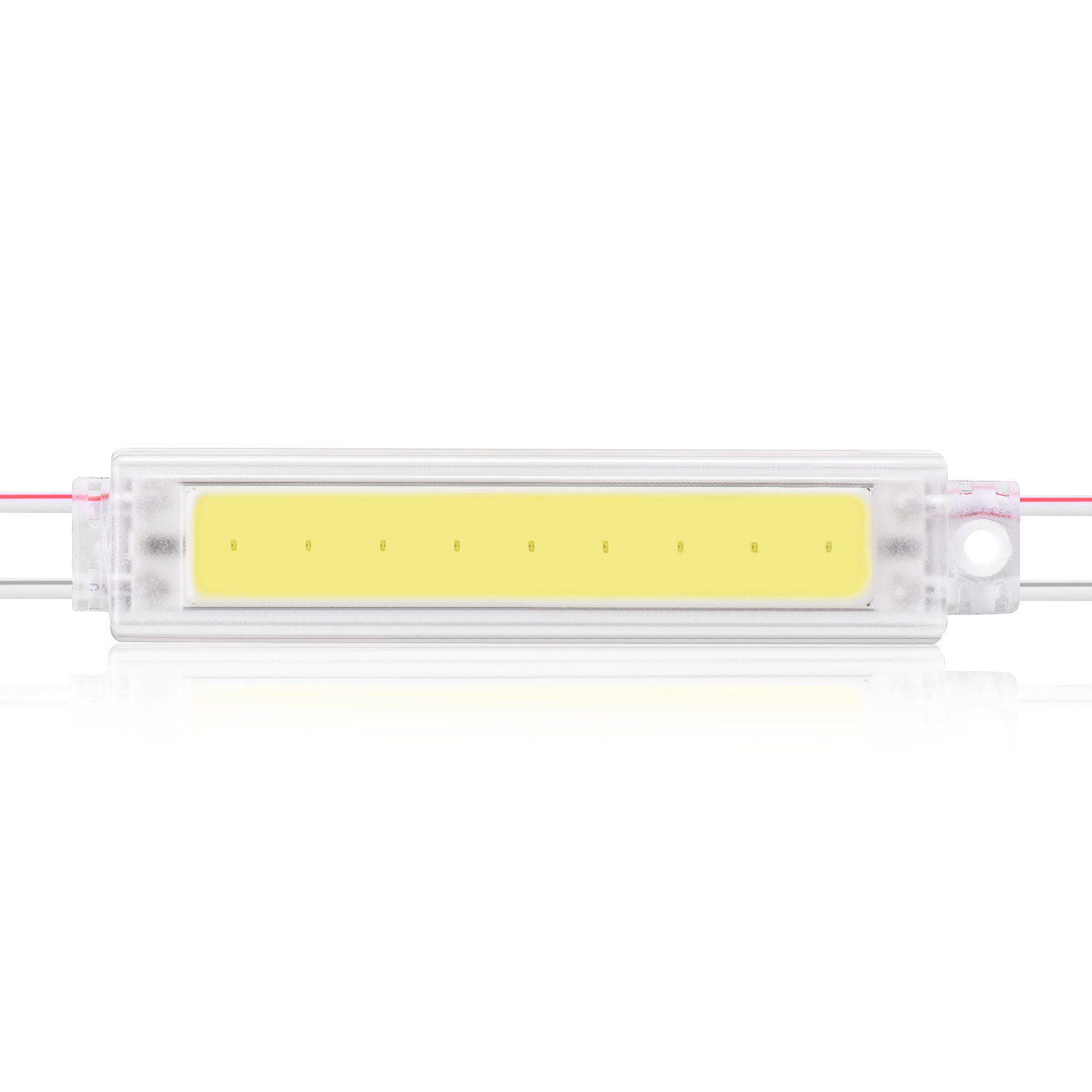 High quality COB 12V 2w led module light ip67 waterproof injection led module