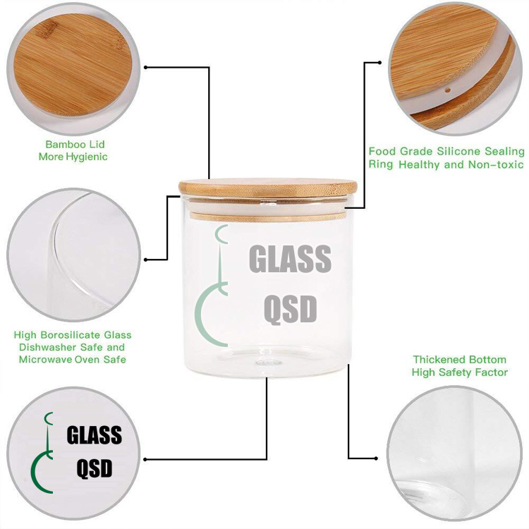 30 40 60 80 100 120 200 300 500 ml Glass Jar Container With Bamboo Lid For Storage 4.jpg