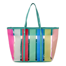 wholesale Clear Shoulder <strong>tote</strong> with Inside &amp; Outside pockets and zipper Closure,high quality beach bag,Clear Big <strong>Tote</strong>, Casual Bag