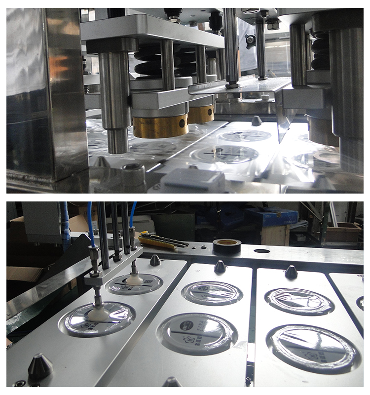 XBBH-95-4 Automatic Trays & Cups Filling & Sealing Machine