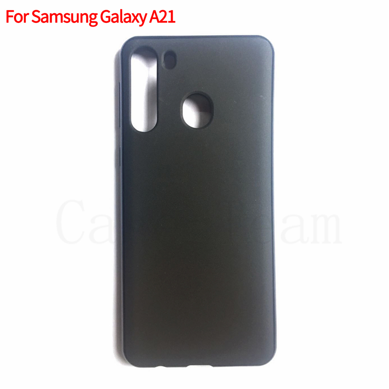 Factory Wholesale High quality frosted Soft TPU <strong>Phone</strong> <strong>Case</strong> for Samsung Galaxy A21, matte Pudding <strong>case</strong> for A21