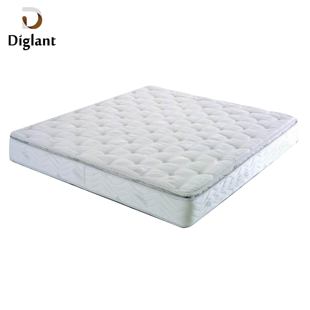 DM070 Diglant Gel Memory Latest Double Fabric Foldable King Size Bed Pocket bedroom furniture vacuum mattress - Jozy Mattress | Jozy.net