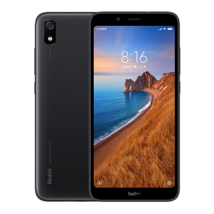 Fast Shipping Xiaomi Redmi 7A, 2GB+16GB, Global Official Version 5.45 inch 4000mAh Battery Big Fonts, Big Volume <strong>Mobile</strong> Phone