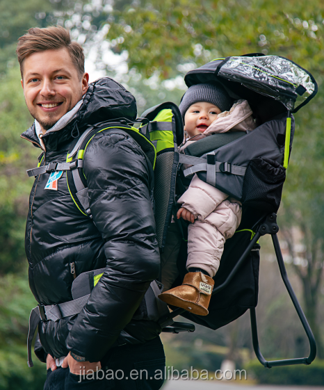 kids carrier/baby backpack with metal frame with EN13209 certificate folded baby carrier & baby product