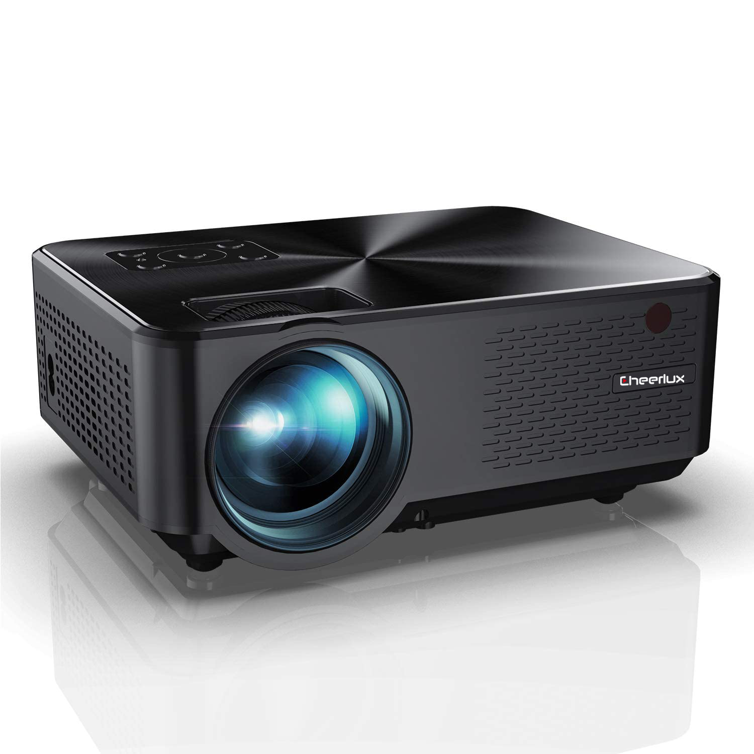 CHEERLUX C9 Newest HD <strong>Projector</strong> native 720P 2800 lumens LED <strong>Projector</strong> Home Theater <strong>Projector</strong>