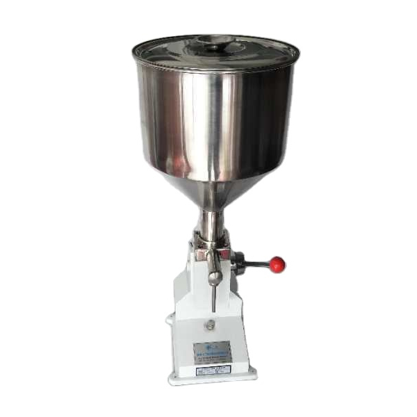 <strong>A02</strong> pneumatic liquid paste filling machine for lipstick grease