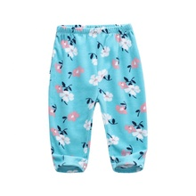 Wholesale 100% Polyester Cute patten Soft Infant long Pants Winter warm baby pants