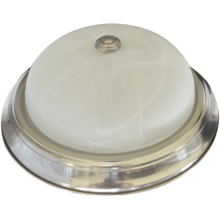 Factory Price Wholesale Flush Mount Dome Classic Alabaster Opal Glass Hallway Ceiling Light