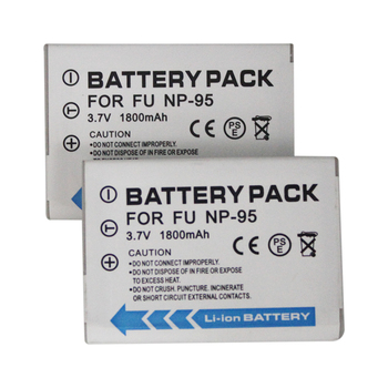 Li-ion battery FNP-95 NP-95 for Fuji X-S1 X100 F30 F31 3D W1