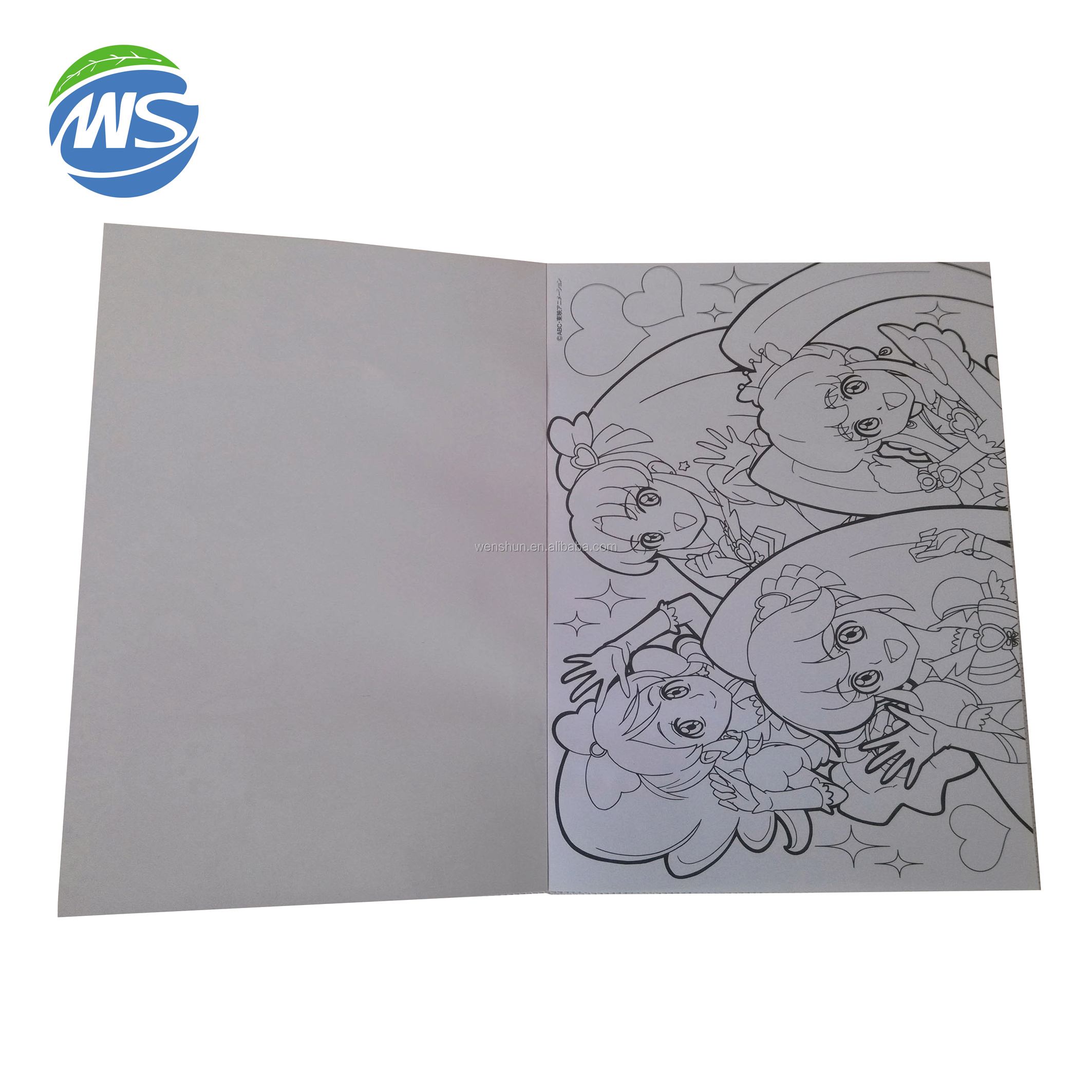 Custom Printed A4 Size Creative Sketchbook For Drawing
