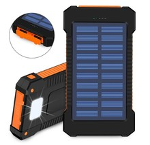 Black Technology solar phone power bank Dual USB Solar Mobile Power Bank for All Smart Phone