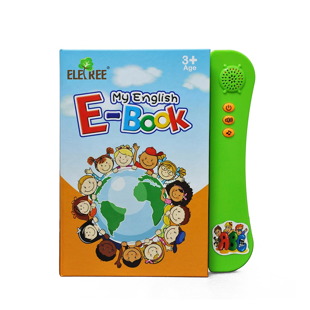 My First Word Book Early Development Electronic Activity ABC Games Spelling Spanish-English Tablet kids <strong>toy</strong> import
