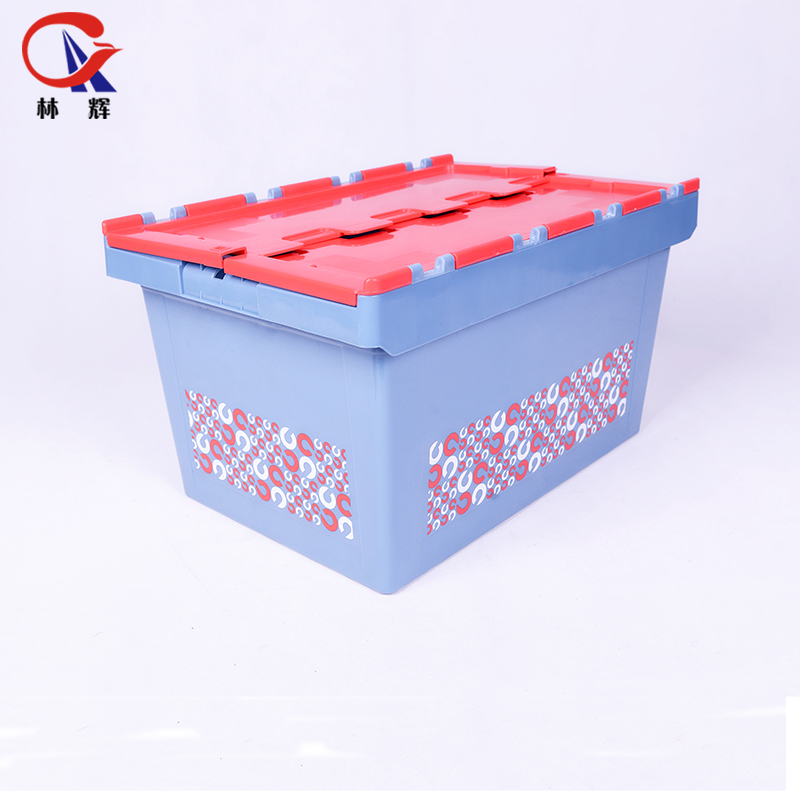 <strong>Plastic</strong> Moving Foldable Stacking Logistics Containers