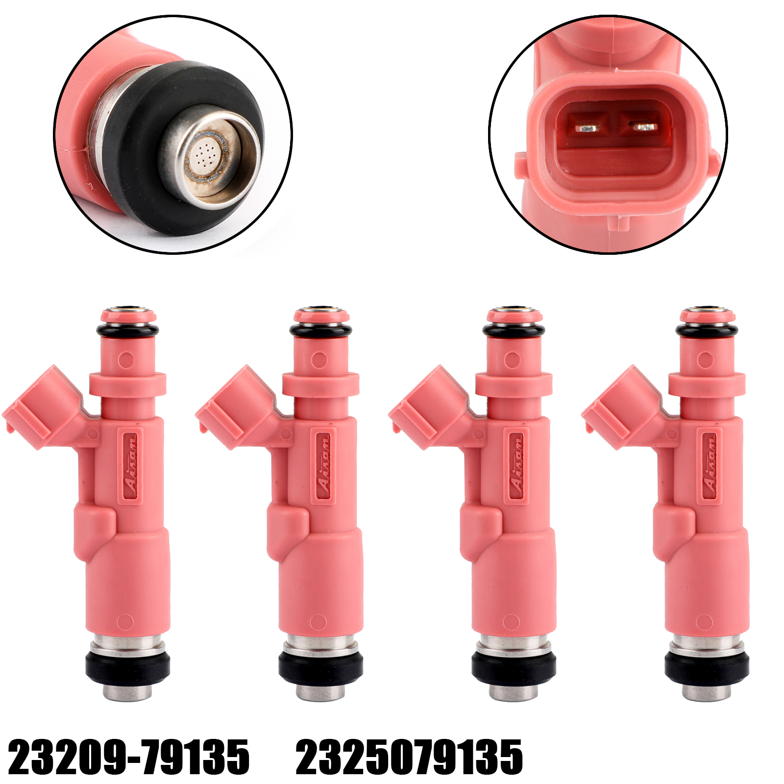 Areyourshop 4pcs New <strong>Fuel</strong> <strong>Injectors</strong> 23209-79135 for TOYOTA 4Runner Tacoma 2.7 2.4 L4