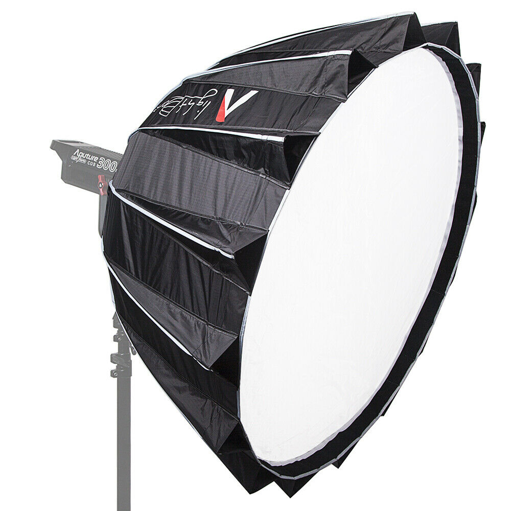 Aputure Fast Setup Light Dome II Outdoor Flash Softbox Diffuser Honeycomb Grid Bowens Mount for C120 300D