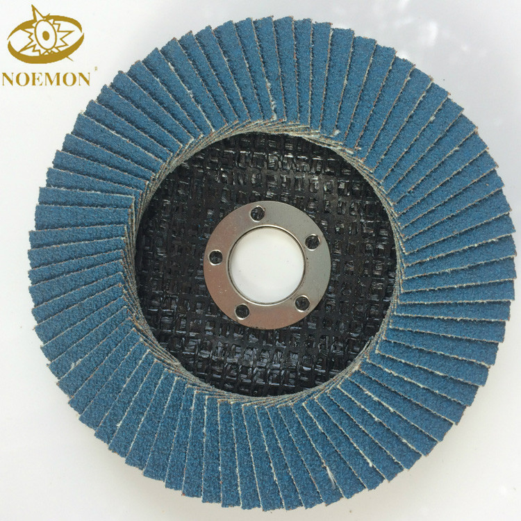 <strong>100</strong> <strong>x</strong> 16 Calcined Aluminum Oxide Flap Disc for Stainless Steel Grinding and Polishing
