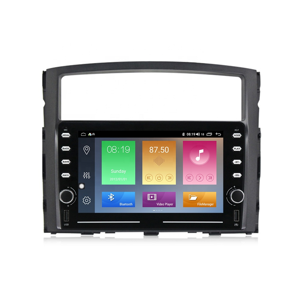 <strong>D</strong> Series Android IPS+2.5D+DSP+4G LTE+CarPlay Car Radio Player For Mitsubishi Pajero 4 V80 V90 2006-2014 with 4+64/1+16 no dvd