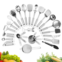 cooking tools stainless steel kitchen utensils set of 29