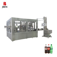 carbonated juice bottling plant cost / 8-8-3 small carbonated drink filling machine / automatic liquid bottle filling machine