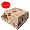 Customized snack packaging burger box fast food hamburger packaging