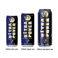 Energy Drink Private Label 250ml/330ml/500ml Can Power Drink