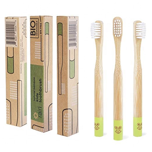 High Quality Biodegradable Eco Friendly <strong>Bamboo</strong> Toothbrush With Holder