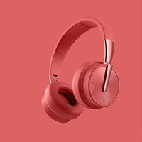 High fidelity sound over-the-ear stereo wireless doubl bluetooth headset