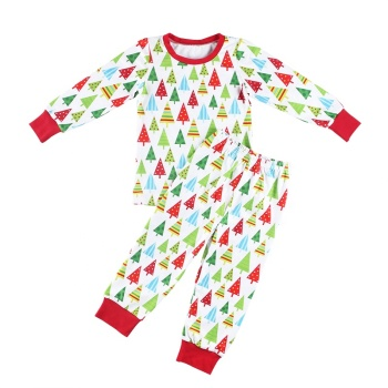 2019Wholesale pajamas Christmas children clothing set baby clothes baby girl clothes