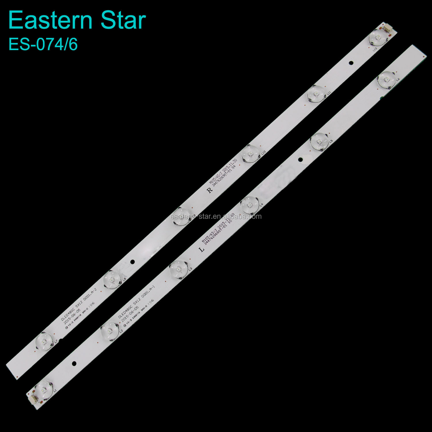 ES-074 6 ledS LED tv backlight use for RECONNECT DLED48GC 5X12 0001.A-1 2 2015-06-05 YS <strong>D</strong> E469119 94V <strong>0</strong>