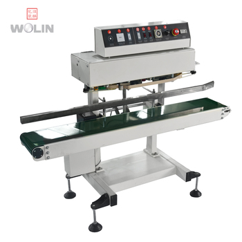 Hot sale flow continous sealer thermal band sealer for plastic bags