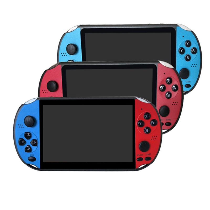 New portable handheld game console 5.1 inch color screen <strong>X12</strong> retro video game console
