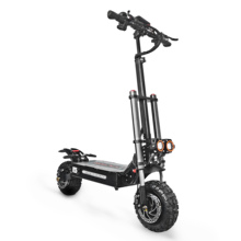 5600W 60V Electric Scooter 11inch 2 motor Wheel Lithium Battery Adult Fat Tire Folding Skateboard