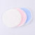 OEM colorful make up washable cotton pads three layer