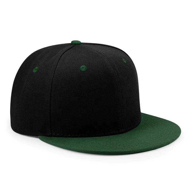 Wholesale Classic Snapback Snap Back Custom black Blank plain Snapback <strong>Cap</strong> for men women
